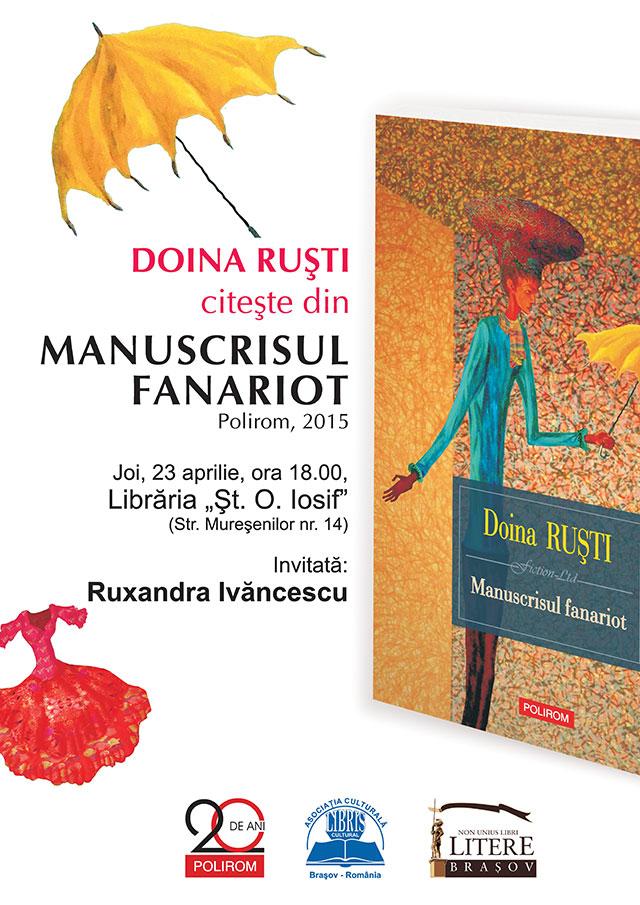 lansare carte Doina Rusti