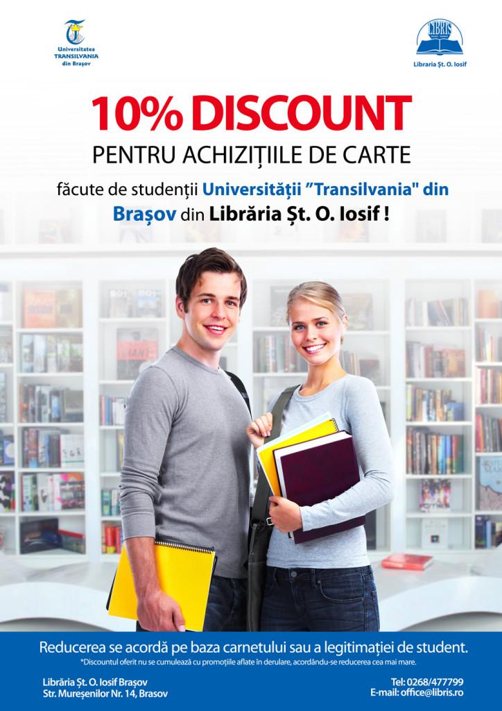 REDUCERE PENTRU STUDENTI