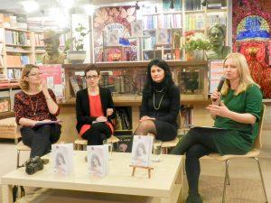Despre emotiile poeziei cu Elena Dragoi...la libraria St. O. Iosif