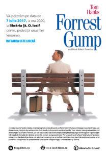 Proiectia lunii iulie – Forrest Gump