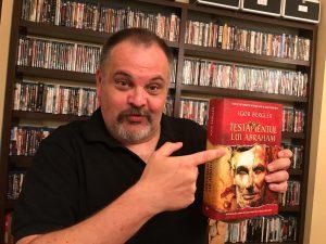 Igor Bergler: Testamentul lui Abraham e o carte despre carti printre altele si despre biblioteci.