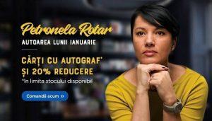 4 cărți fermecătoare ale Petronelei Rotar - autoarea lunii ianuarie pe libris.ro