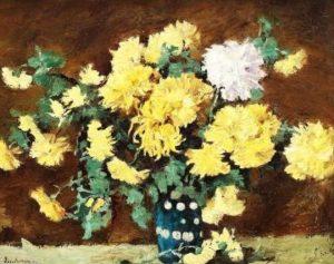 Ștefan Luchian, Crizanteme Galbene - 500 de piese