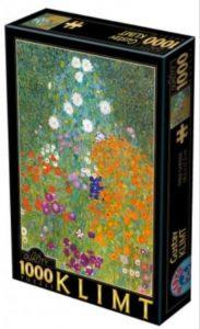 Gustav Klimt, Farm Garden - 1000 de piese