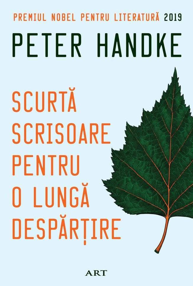 O lectură enigmatică, solicitantă pe alocuri, cartea lui Peter Handke mi-a livrat, inegal, o experiență pe care nu aș putea-o numi decât stranie