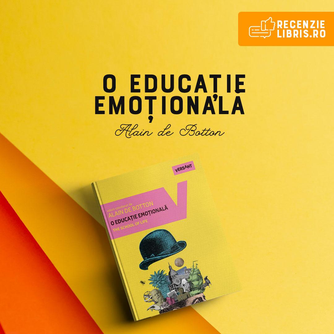 O educație emoțională – Alain de Botton