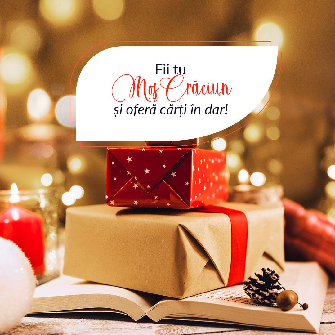 Fii tu Moș Crăciun! 9 motive să oferi cărți cadou anul acesta de Crăciun