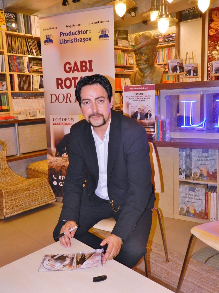 Lansare cd Gabi Rotaru - Dor de vis