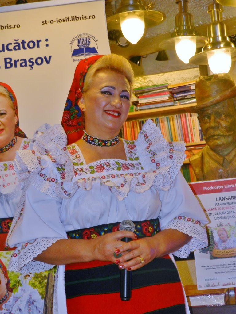 Lansare Cd Ioana Bozga - Viata, viata te iubesc