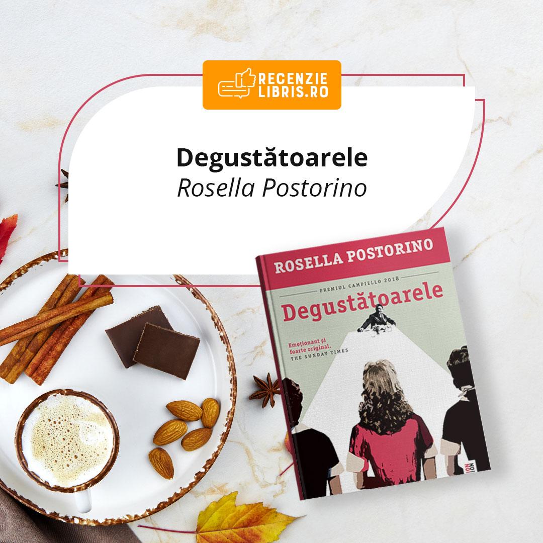 """Recenzie carte """"Degustătoarele"""" – Rosella Postorino"""