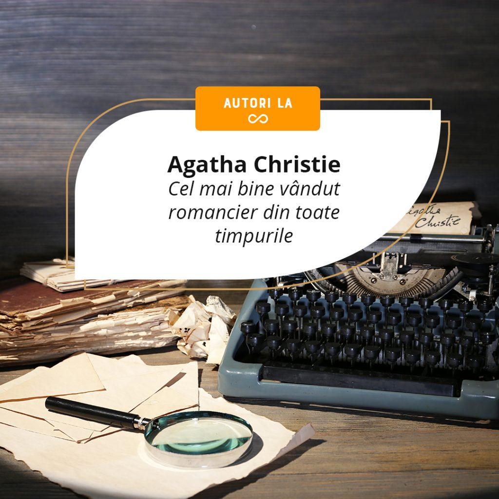 Agatha Christie – cea mai citită autoare de ficțiune din toate timpurile