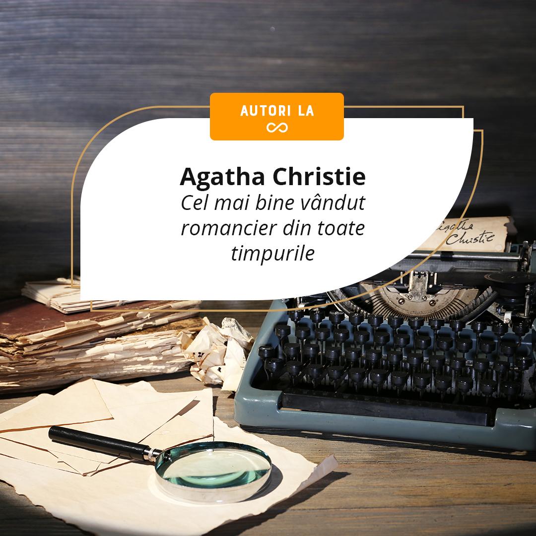 Agatha Christie - cea mai citită autoare de ficțiune din toate timpurile