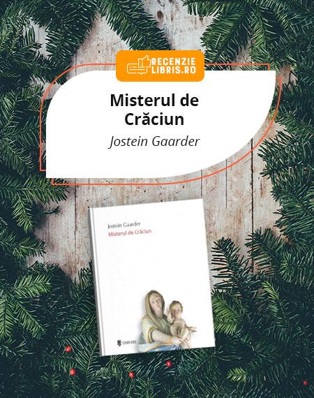 Recenzie carte Misterul de Crăciun – Jostein Gaarder