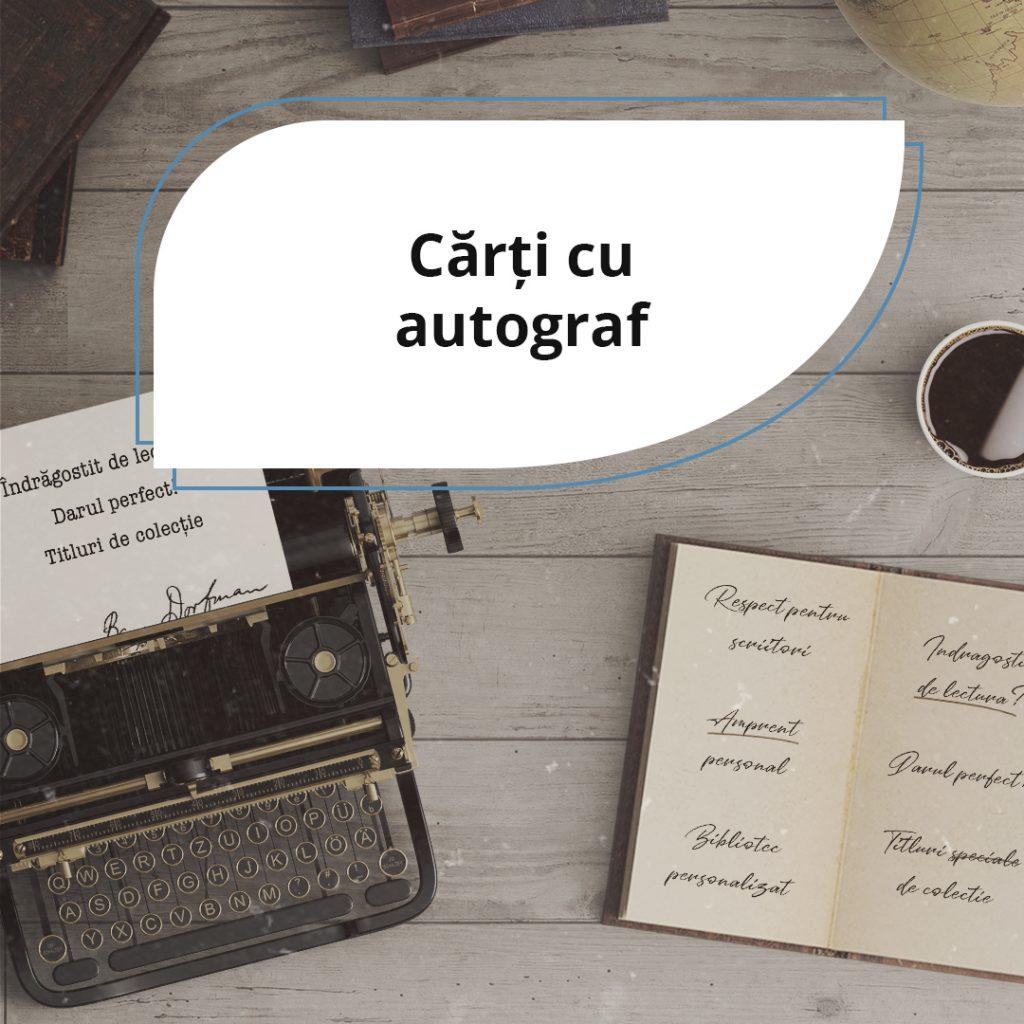 Cărți cu autograf: de la amprenta personală, la respectul pentru autor