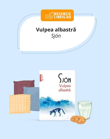 """Recenzie carte """"Vulpea albastră"""" de Sjón"""
