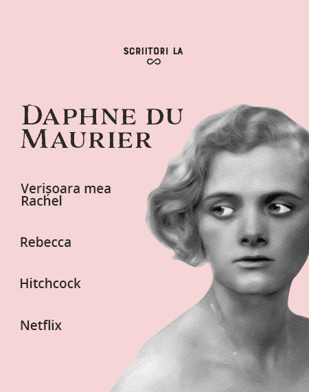 Scriitori la infinit: Daphne du Maurier. Maestra suspansului macabru și a ghicitorilor nerezolvate