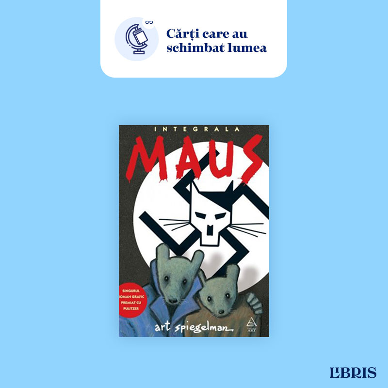 MAUS de Art Spiegelman – Povestea unui supraviețuitor al Holocaustului în benzi desenate