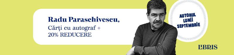 Radu Paraschivescu despre ironie, umorul văzut ca inteligență și o Românie a contrastelor